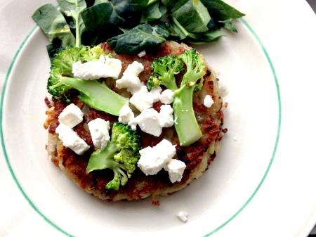 bild-rösti med feta o broccoli