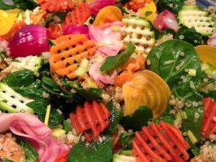 skärverktyg sallad pickalde grönsaker