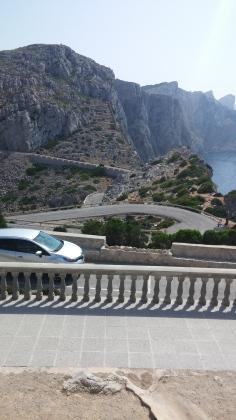 bild spanien serpenntinväg