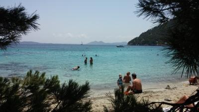 Formenta stranden första