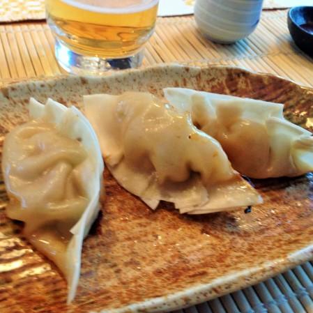 dumplings gyoza