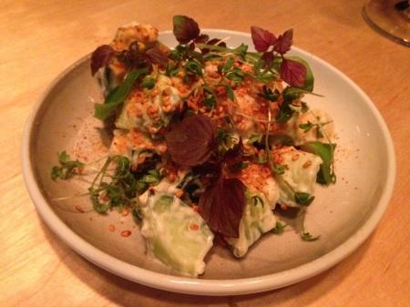 shibumi gurksallad med romsäck och chilisesamfrö