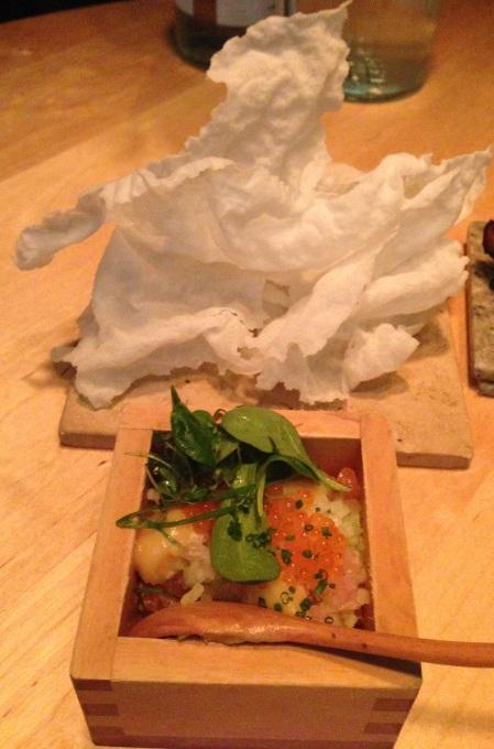 shibumi-LAxtartar med friterat rispapper 2