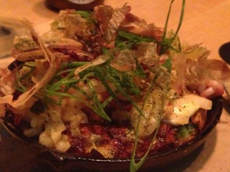 shibumi omelett med skaldjur