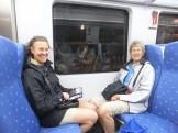 Tåg på väg till Inca